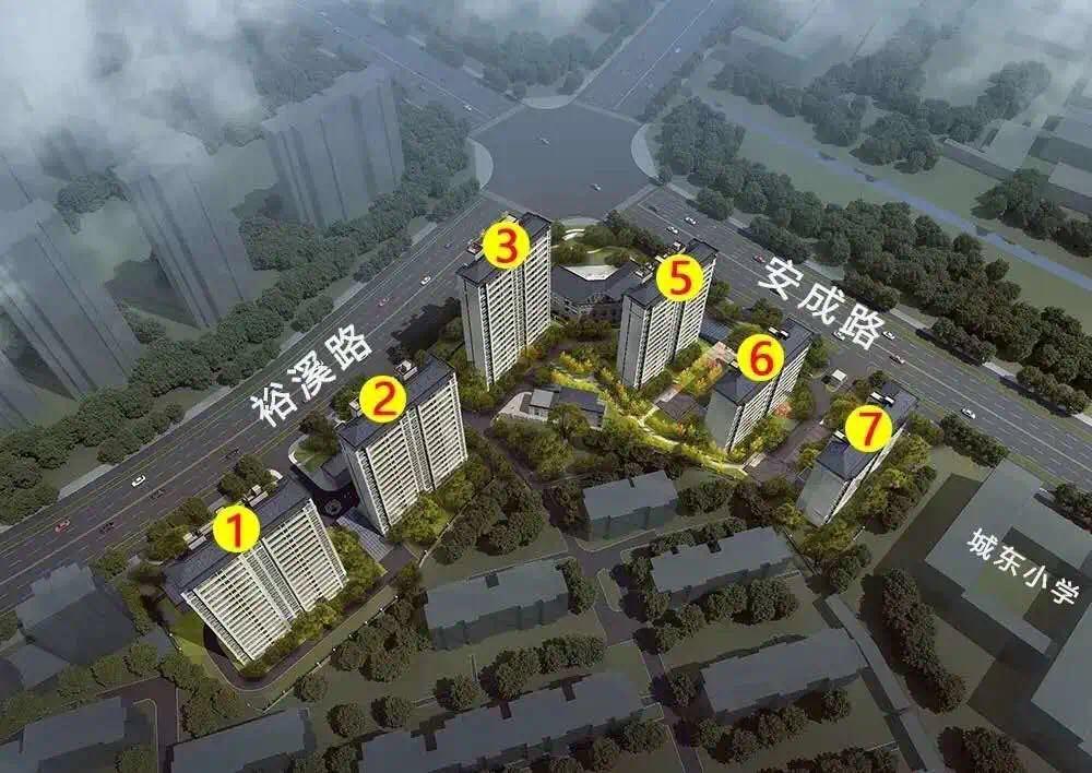 新华学府在售楼栋