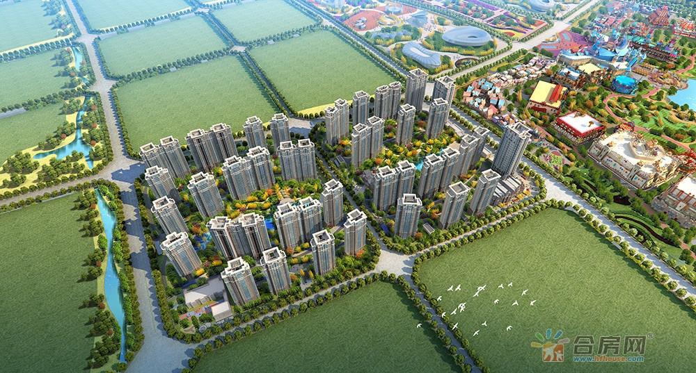新滨湖恒大文化旅游城楼号图