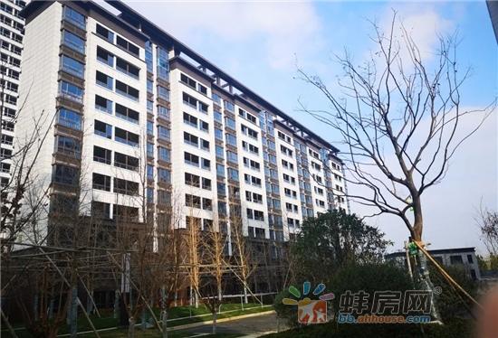 京茂华府高层1-3#楼外墙正在喷涂真石漆