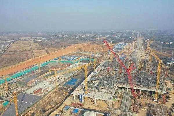 关注~新安庆西站最新进展来了!