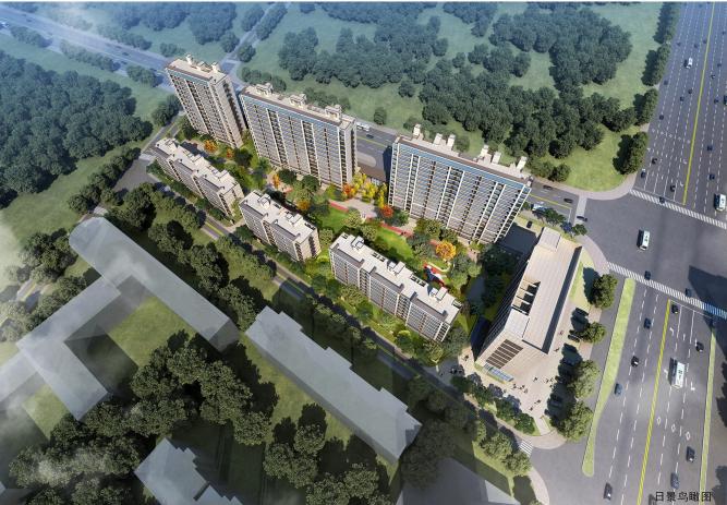规划6栋343户住宅!经开区繁华里项目规划发布!