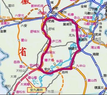 最新透露!巢马城际铁路江北段预计在2024年建成!