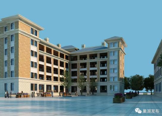 预计五月交付!人民路小学西校区教学楼主体完工