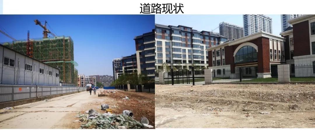 皖江四季西侧规划支路建设工程正式开工建设