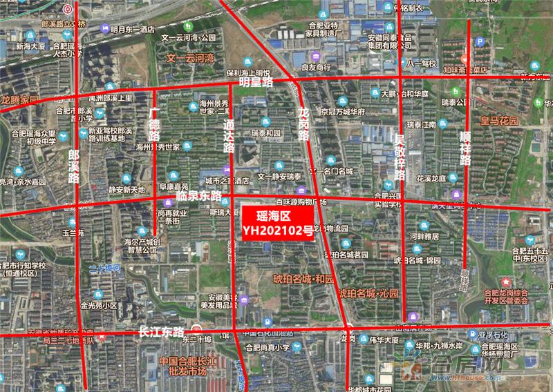 总价12.29亿元 城建竞得瑶海区YH202102号地块